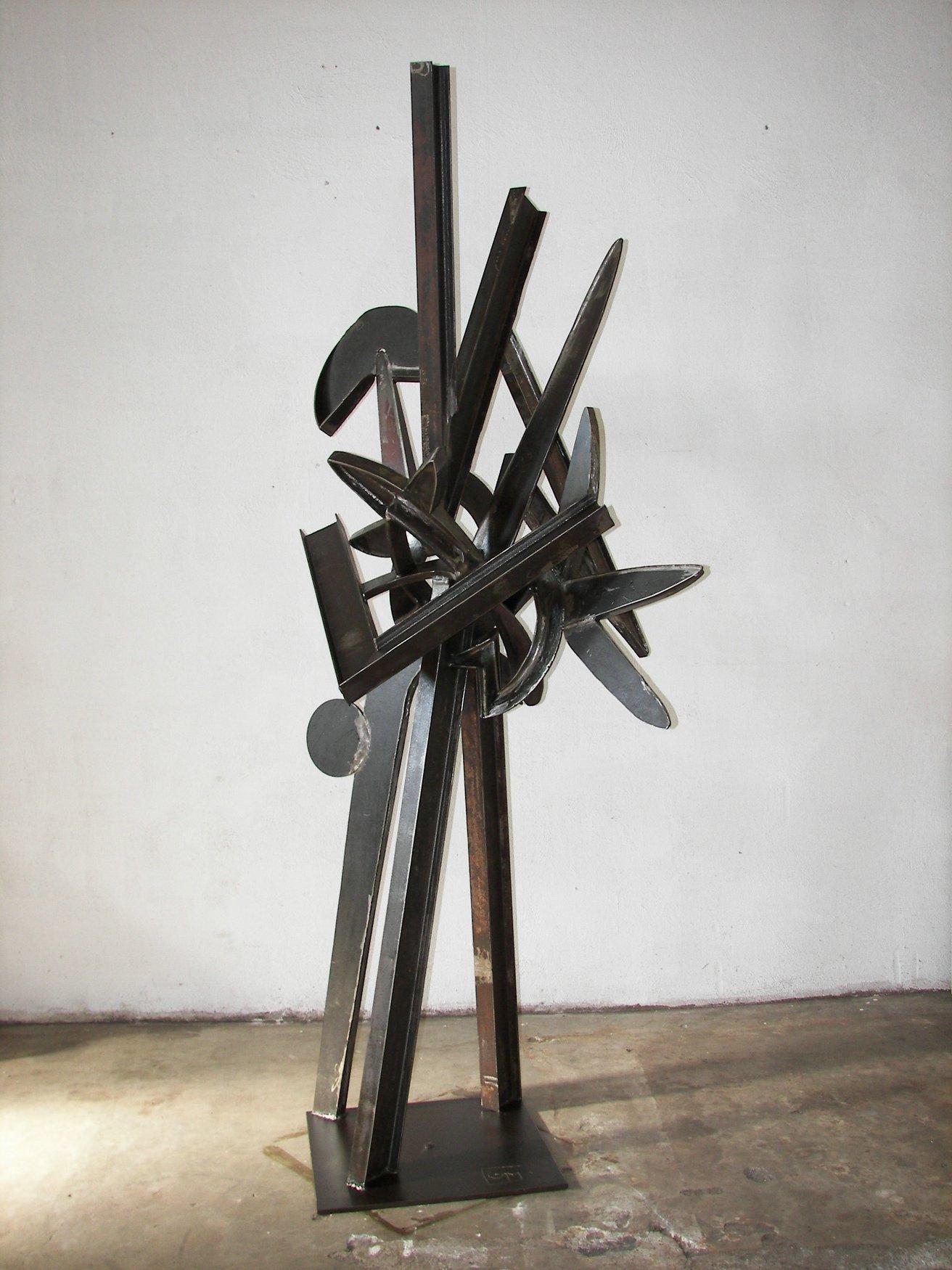 oeuvres monumentales artiste sculpteur m tal georges meurdra art contemporain. Black Bedroom Furniture Sets. Home Design Ideas